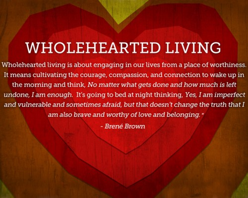 Wholehearted living for Daughters