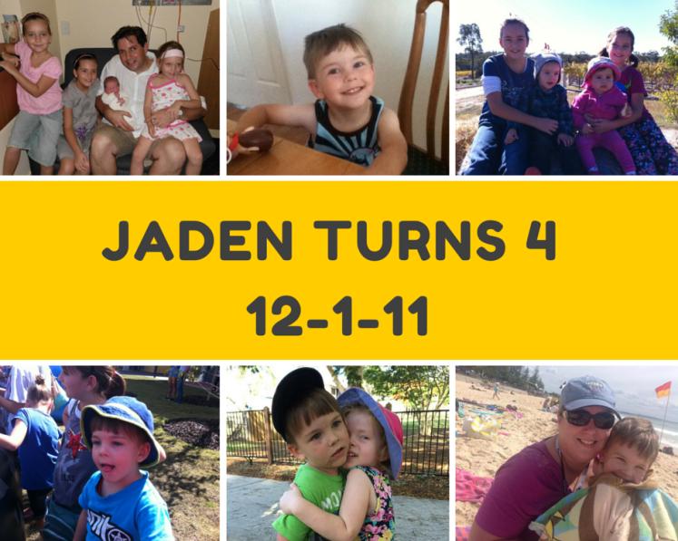 Jaden turns 4