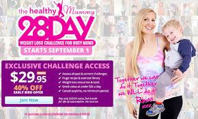 28 day healthy mummy challenge website