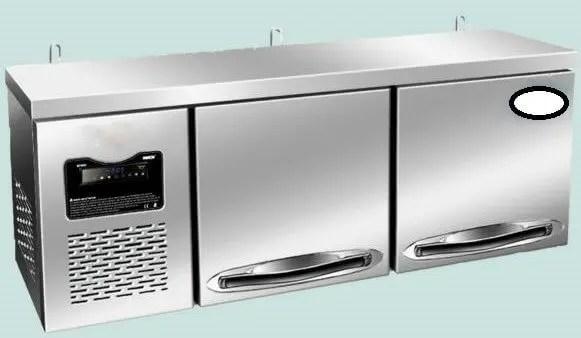 small restaurant kitchen design wall mounted refrigerator