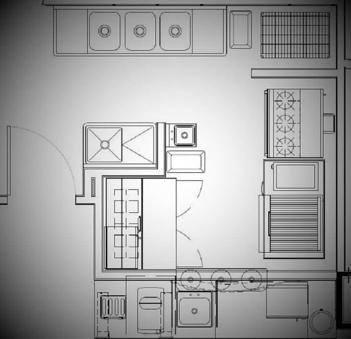 Small Cafe Kitchen Layout Strategy | Mise Design Group