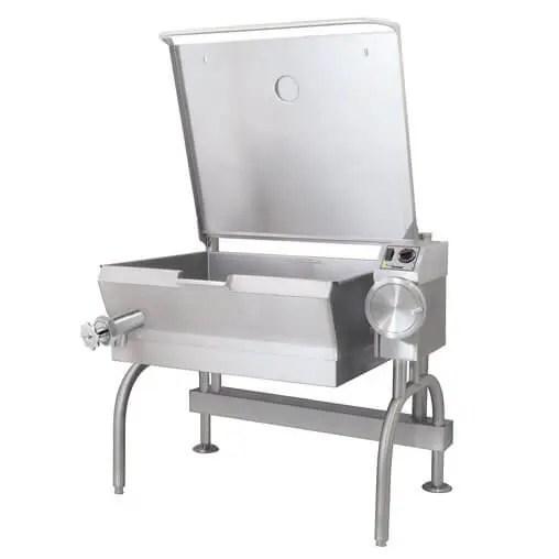 stationary tilting braising pan