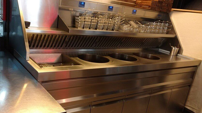 Restaurant Kitchen Deep Fat Fryer
