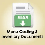 Menu Costing and Inventory Documents Download icon