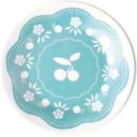 Cherry Small Plate Blue