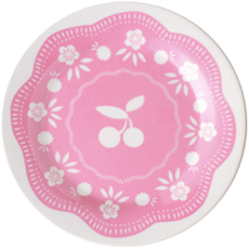 Cherry Small Plate Pink