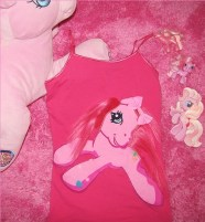 Pinkie Pie DIY tank top (PINK - SMALL)