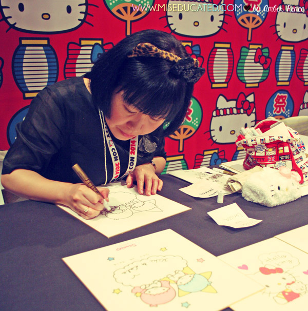 Hello Kitty Twin Stars Artist