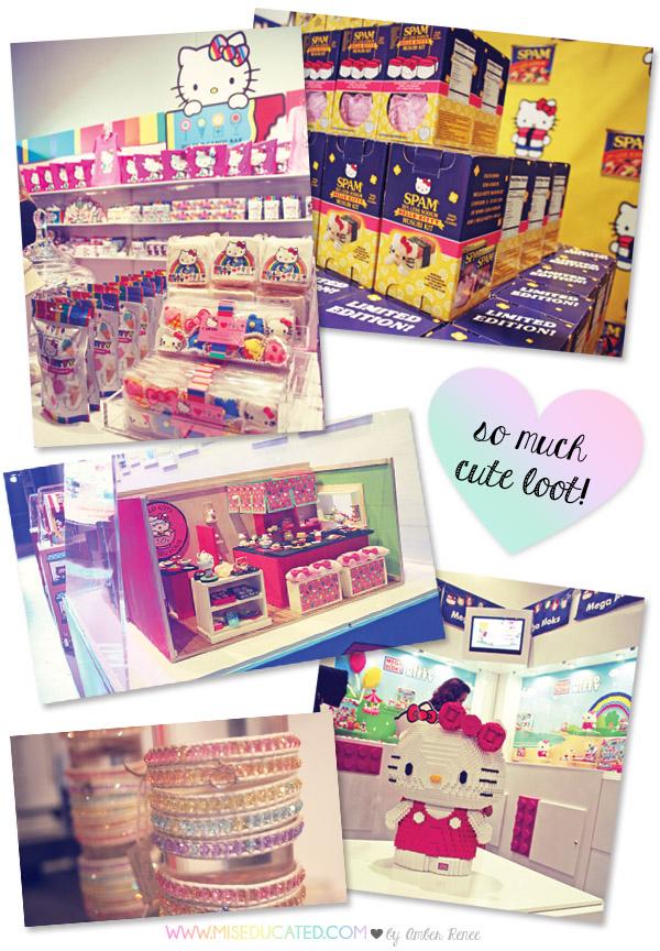Hello Kitty Con Booths Megabloks, SPAM, Re-ment
