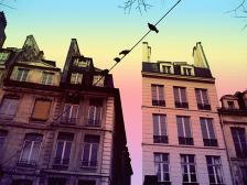 Rainbows Haunting Paris