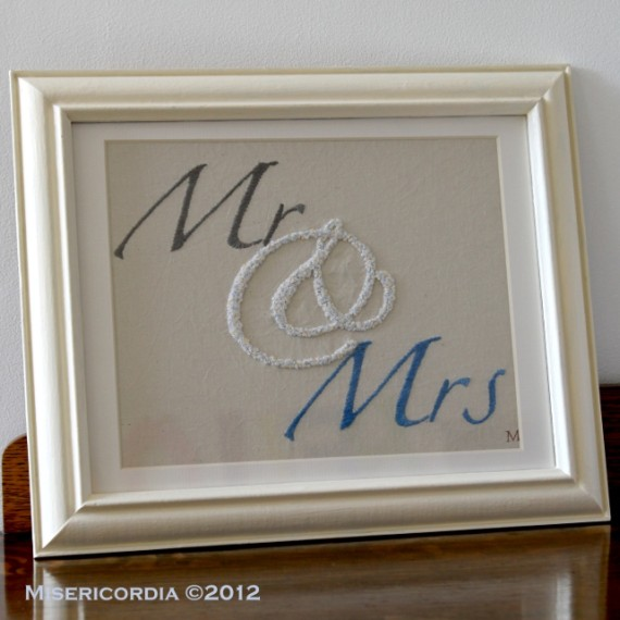 Mr & Mrs - Jand Embroidered Commission by Misericordia 2012