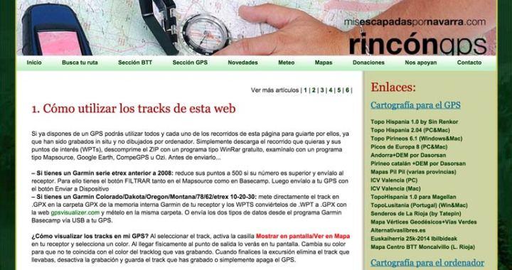 Sección Rincón GPS