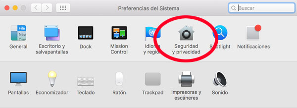 Seguridad en OSX Capitan