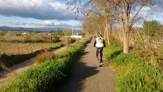 Via verde del Cidacos en Calahorra