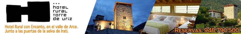 Hotel Rural Torre de Úriz en el valle de Arce