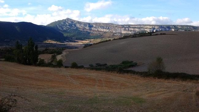 Val de Etxauri y sierra de Sarbil desde Arraiza