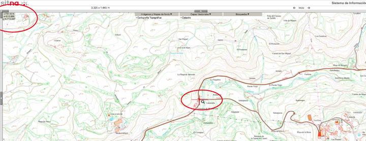 Calibrar mapa con Sitna