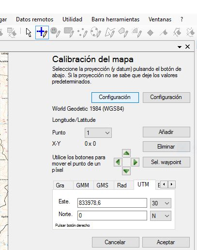 Calibrar mapa con okmap