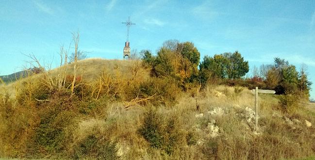 Cruz de Pamplona en Azpa Egüés