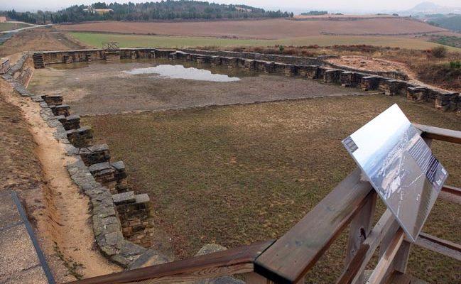 Depósito de contención romano de Andelos