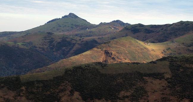 Monte Mondarrain Francia