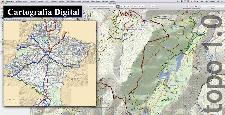 Nuevo mapa TopoNavarra 1.0 para Garmin