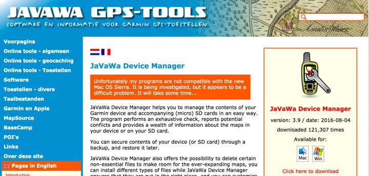 Utilidades para GPS Garmin