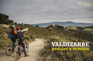 Reportaje BTT por Valdizarbe en Conocer Navarra