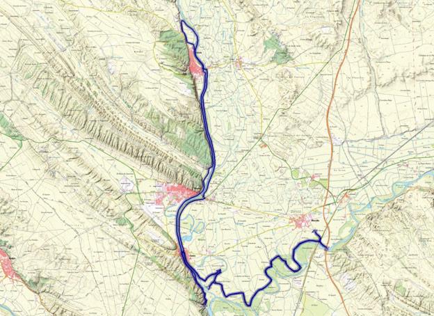 Mapa del recorrido 227BTT