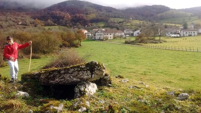 Ruta Dólmenes de Oderitz-LARRAUN Navarra