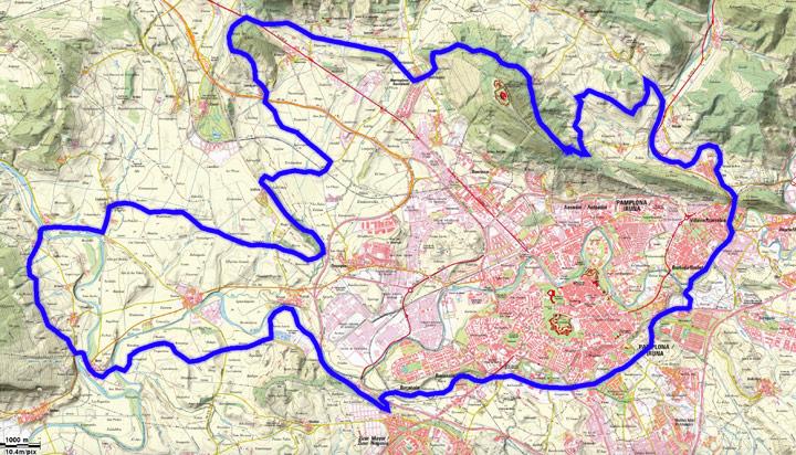 Mapa del recorrido 277BTT