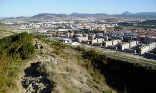 Camino de la Cresta monte Ezcaba