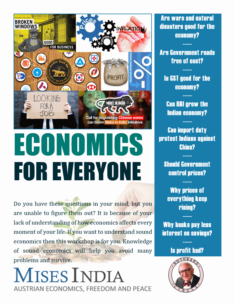 Economics for Everyone workshop