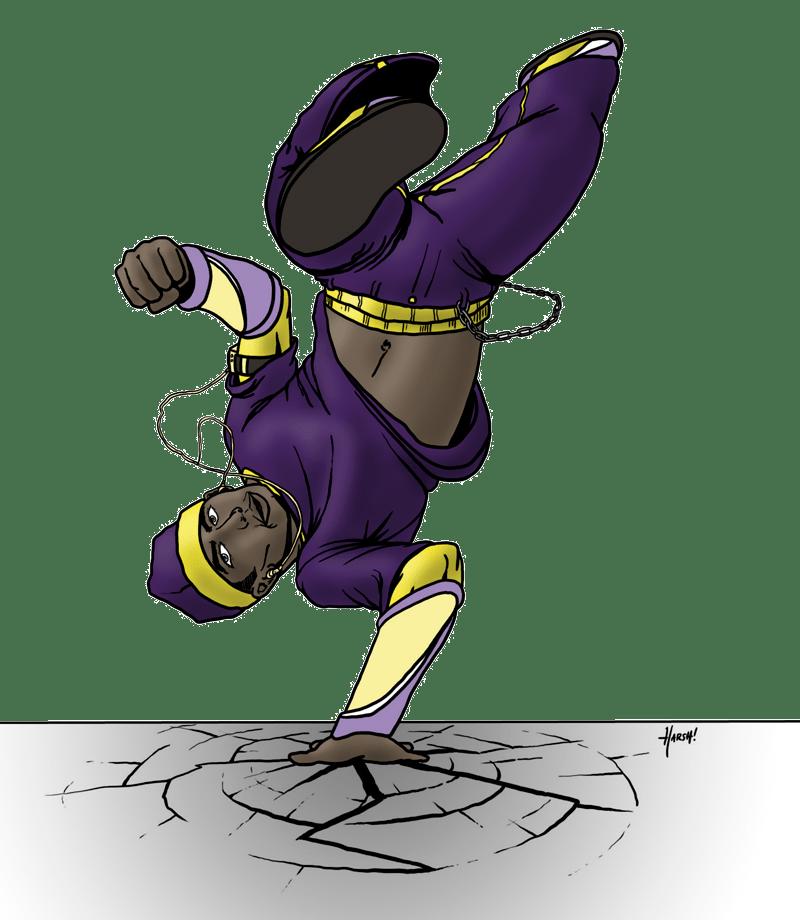 Footloose, Breakdancing Super-Villain