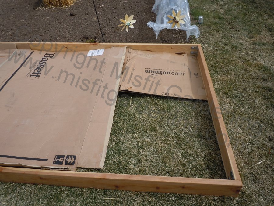 Building a raised bed