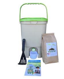 Vermitek bokashi compost kit