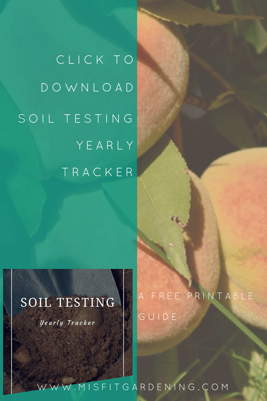 Soil analysis and testing tracker