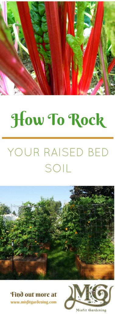 Getting the soil right is the key to growing a great garden. Click to find out how to make the your raised bed soil rock and grow a great garden or pin it and save for later