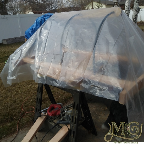 How To Build A Hoop House For Raised Beds - Misfit Gardening