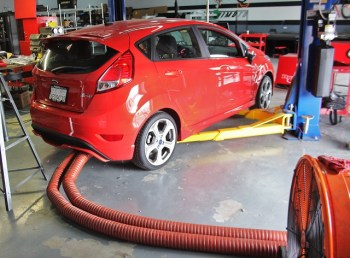 Keeping The Party Cool! Mishimoto's Ford Fiesta ST Radiator R&D, Part 5: Initial Testing Results