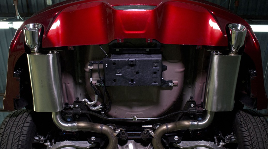 Ford Mustang Gt Exhaust Components