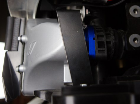 We are also including a new mounting bracket for the cold side designed for the increased size of our intercooler.