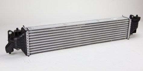 The similarities between this intercooler and the 1.5T are conspicuous. There are a few differences that make it better suited for the K20C1, however, the CTR intercooler features an additional 3 rows of fins to help with heat dissipation, and the end tank design has been altered to allow a more efficient flow of charged air through the core.