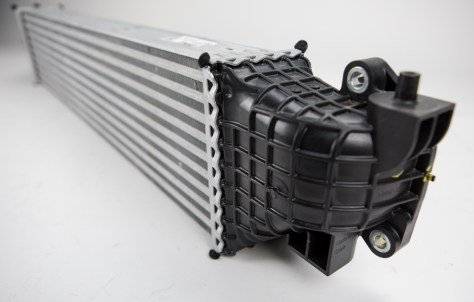 Honda seems to have taken the design for the smaller intercooler and added a few extra rows for cooling.