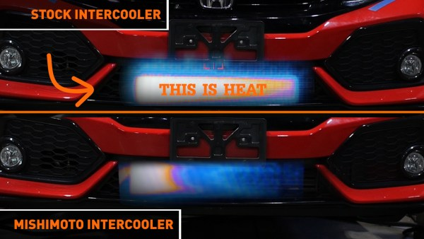 We had the opportunity to record the amount of heat passing through the Sport Hatch's intercooler when we were running our dyno tests. While this might seem like comparing apples to oranges, given the design similarities between the two intercoolers, there's a high likelihood the CTR's intercooler will have the same fate.