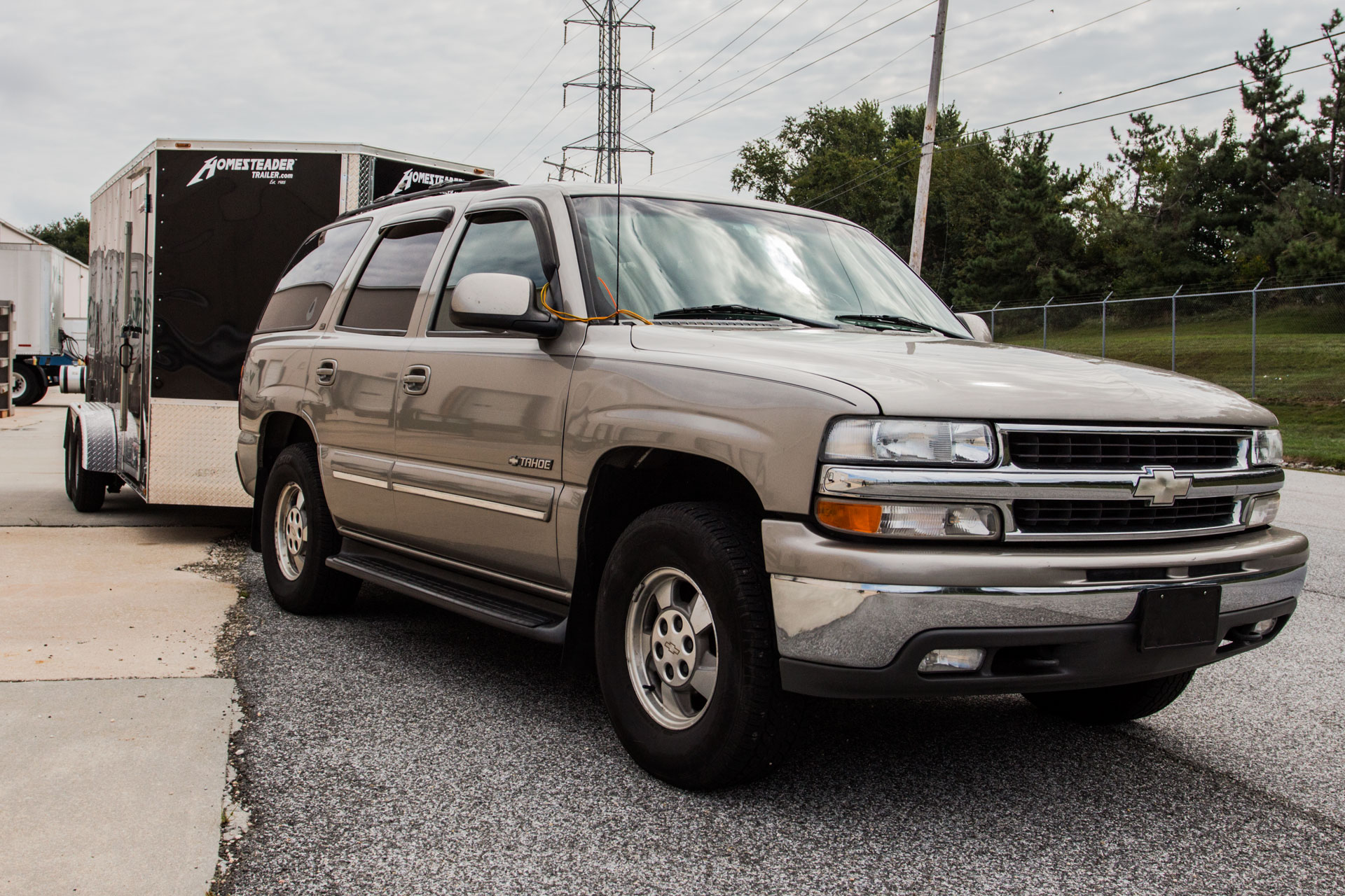 2000 chevy tahoe transmission cooler