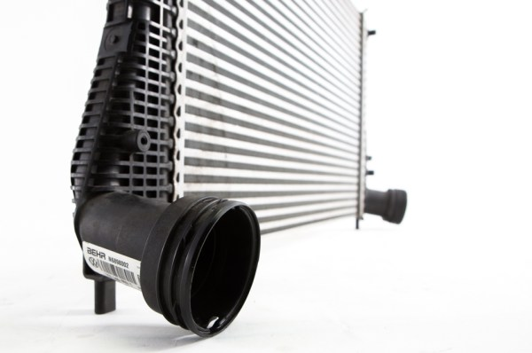 A curve ball we discovered is the fact that VW employs quick-disconnect fittings on the end sections of the intercooler piping, something that we'll have to contend with in the later stages.