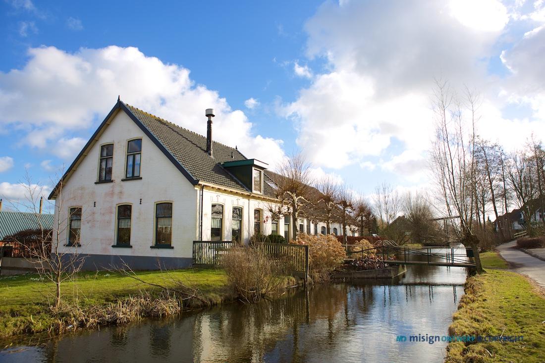 Boerderij in Nieuwe Wetering, Zuid Holland - misign ontwerp