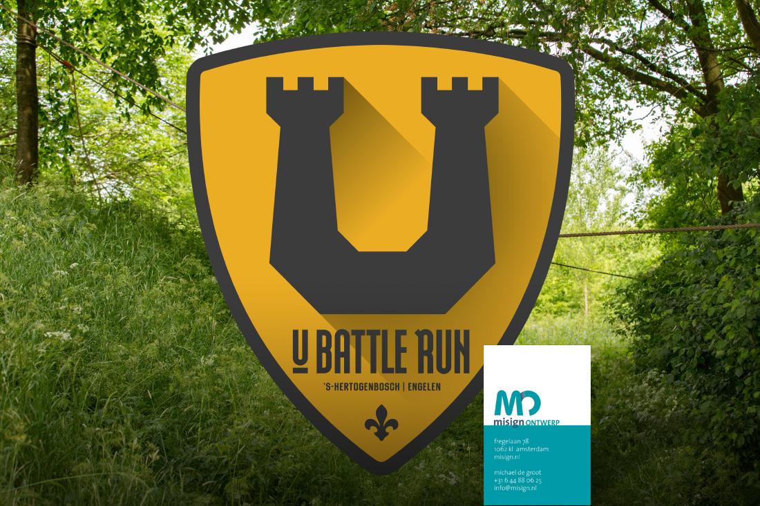Reportage van de U-Battle Run 2017 in Den Bosch door misign ontwerp Amsterdam