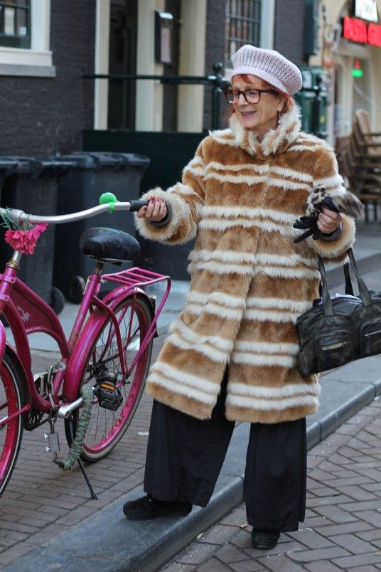 Snelle kiekjes op straat in Amsterdam